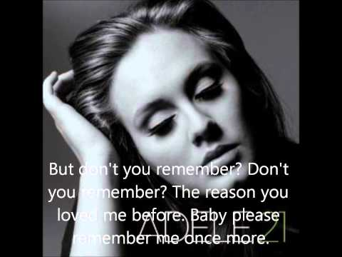 Adele - Don't you Remember mp3